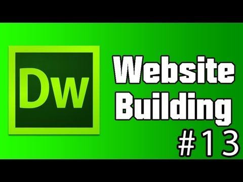 Dreamweaver Website Building - #13 ~ Creating A Template (And How To Use It)