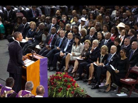 The President Honors the Life of Reverend Clementa Pinckney