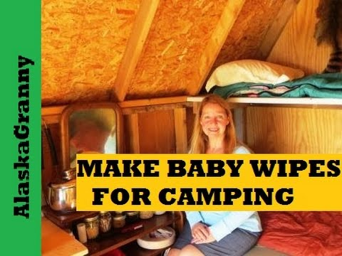 Make Baby Wipes For Camping