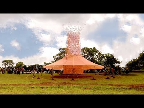 This Bamboo Tower Creates 26 Gallons of Water a Day From Thin Air