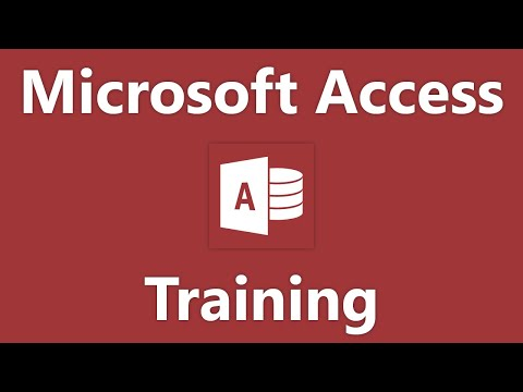 Access 2003 Tutorial Creating Relational Database Tables Microsoft Training Lesson 2.6
