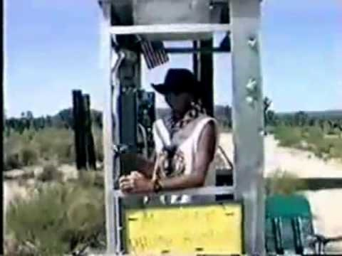 The Mojave Desert Phone Booth