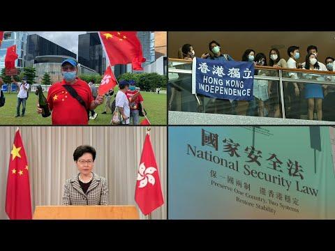China adopta la polémica ley de seguridad para Hong Kong   AFP