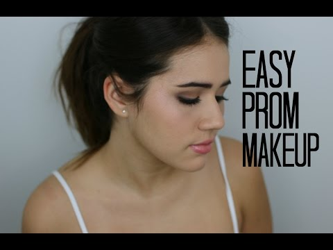PROM MAKEUP YOU CAN ACTUALLY DO: Nighttime Makeup For Beginners
