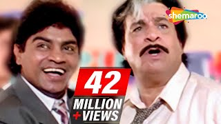 Most Entertaining scenes of Johnny Lever & Kader Khan from 90