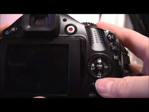 Canon Powershot SX40 HS Tutorial: Step One - Camera Layout