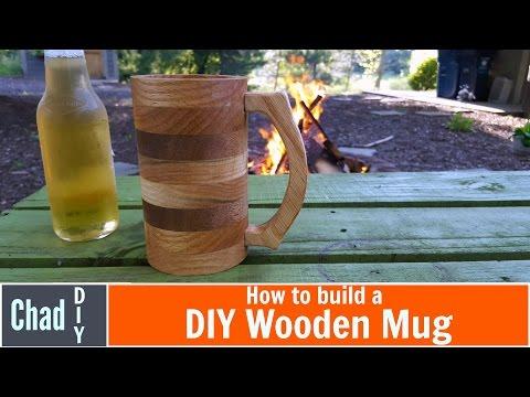 DIY Wooden Mug