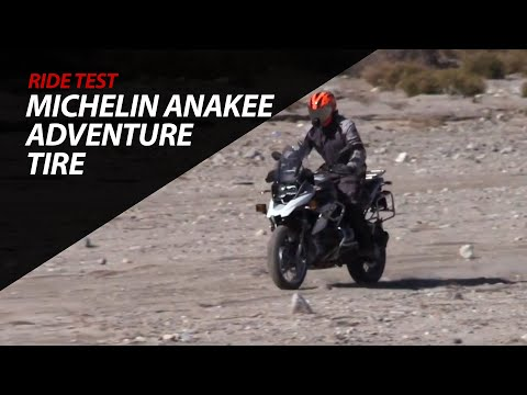 Ride Tested!  Michelin Anakee Adventure Tire - BMW R1200GS - Sand - Rocks - Twisties - Mud - Snow