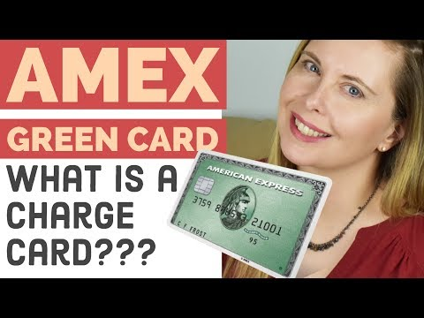 Amex Green Card Review Unboxing - American Express Charge Card