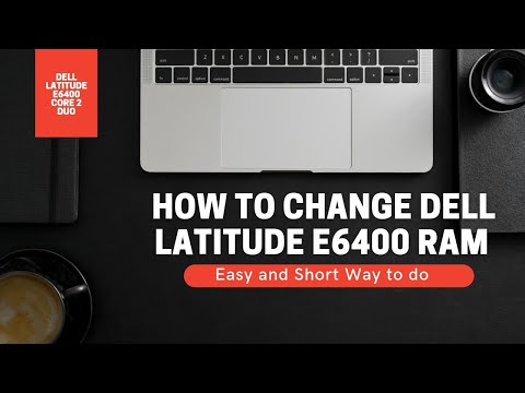 How To Insert/Change RAM Of Dell Latitude E6400 C2Duo Laptop