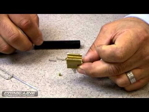 Re-Installing Schlage Lock Cylinder Driver Pins & Springs (That have fallen out during re-keying)