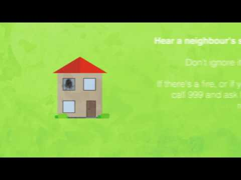 Don't ignore a neighbour's smoke alarm