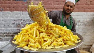 Asad Ullah Chips - Gul Haji Plaza Peshawar | Asad Ullah Finger Chips | Crispy French Fries | Chips