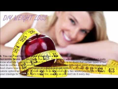 TOP 8 WEIGHT LOSS MYTHS DEBUNKED TUTORIAL | diets to lose weight fast | easy way to lose weight