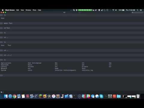 macOS Terminal Alternative: Black Screen