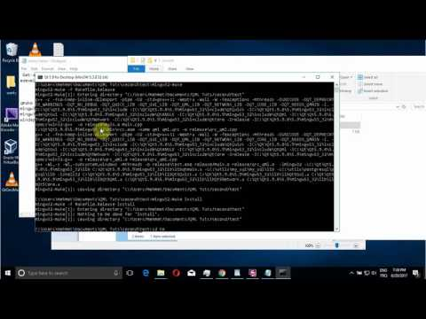 QT 5.9 , deployment on windows with mingw compiler ! ( WellCome )