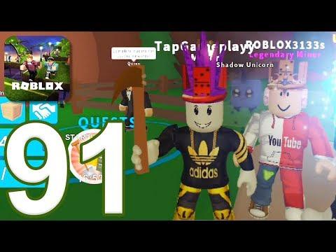 ROBLOX - Gameplay Walkthrough Part 91 - Mining Simulator (iOS, Android)