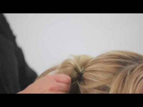 How to Create a Messy Ponytail   Cute Hairstyles