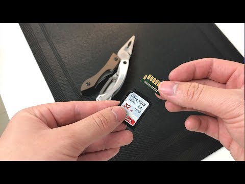 What's Inside an SD Card? - Camera Slot Jammed!