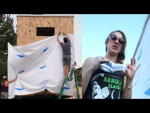 DIY Tiny House wrapping