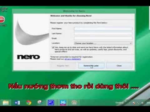 Hướng dẫn cài đặt Nero 2014 cho người mới sử dụng - VGT