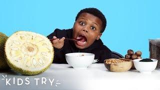 Kids Try Superfoods! | Kids Try | HiHo Kids