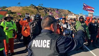 Download Hawaii Protectors Block the TMT Telescope to Respect Tradition and Science Video