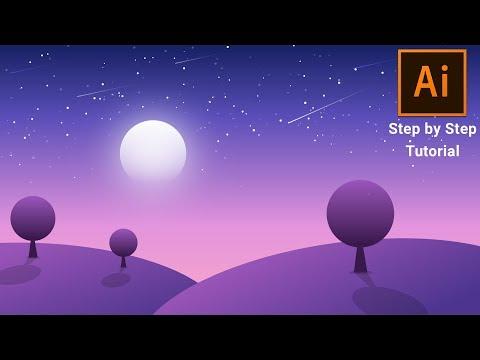 Vector Illustration Tutorial for Beginners | Adobe Illustrator Tutorial