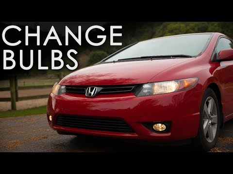 How to change your headlight bulb | Honda Civic