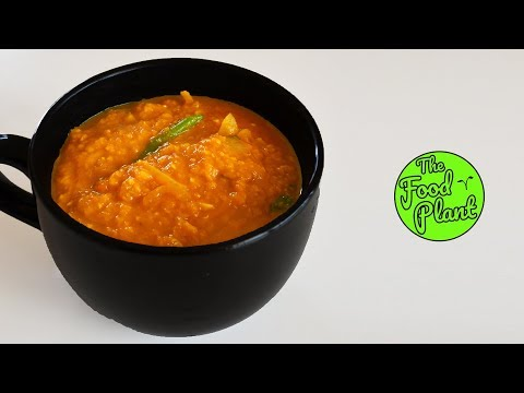 THICK LENTIL SOUP | Easy Lentil Dish!