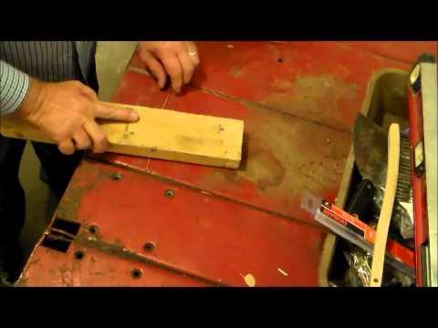 Straighten steel and copper wire - RustyGlovebox