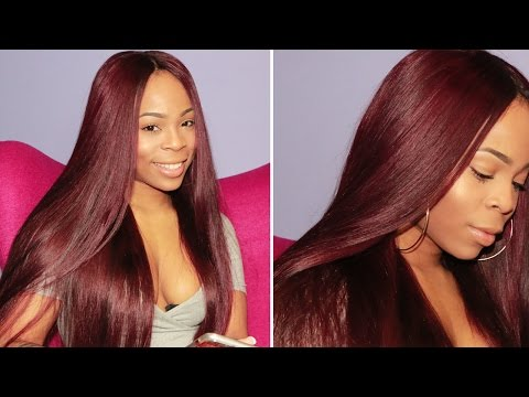How to Dye Your Hair Burgundy /Super Nova  Hair Review