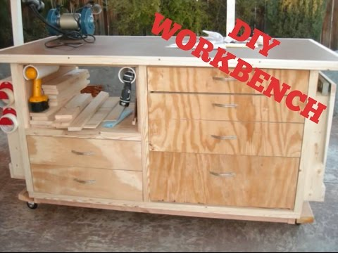 How To Build A Workbench | Step-By-Step Video