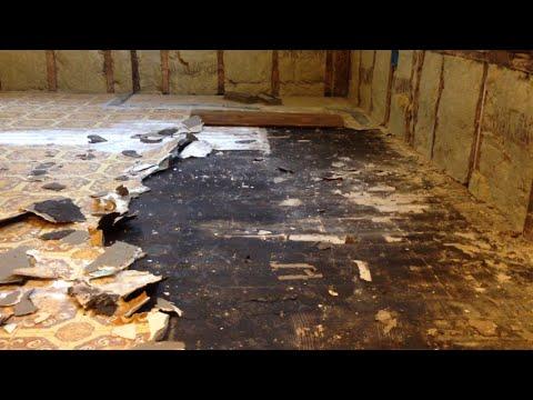 Our Kitchen Renovation Part V Removing Linoleum