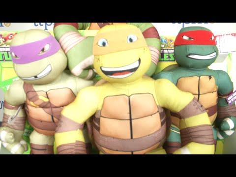 Teenage Mutant Ninja Turtles Half-Shell Heroes Ninja Practice Pals from Playmates Toys