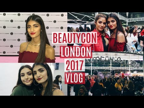 BEAUTYCON LONDON 2017 VLOG // I GOT SCOUTED BY STORM OMG?!?