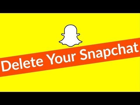 How To Delete/Deactivate Snapchat Account Permanently On Android & Remove Your All History-2018
