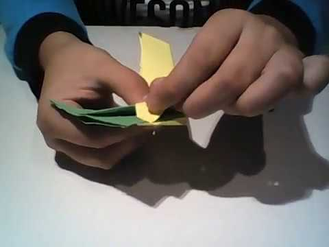 PaperWorks - How to make a paper transforming square ninja star