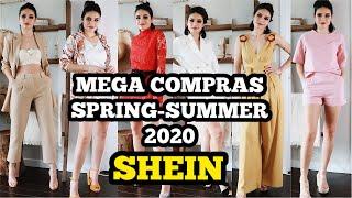 SÚPER HAUL DE SHEIN| PRIMAVERA VERANO 2020| ESTO ME IMPRESIONÓ!⭐️YISSEL G⭐️