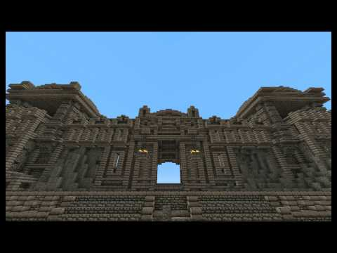Starting The City Of Markarth - Skyrim In Minecraft