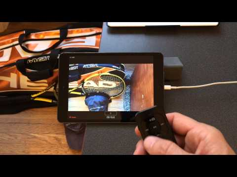 Bluetooth Camera DEMO: CoachMyVideo's Video Analysis Pro with STOP+™ and Bluetooth Remote Contro