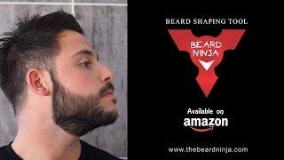BEARD NINJA - Beard Shaping Tool - How to Tutorial