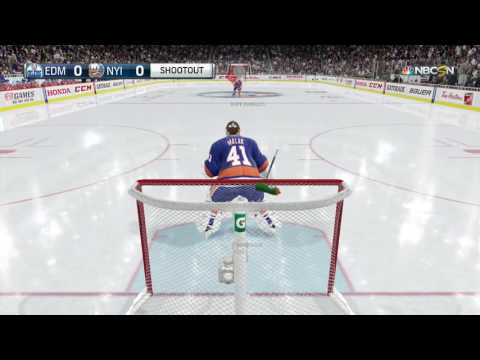 NHL 16 shootout commentary #2 | Being Sick