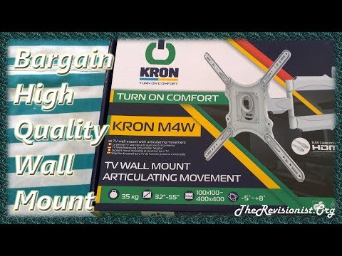 Unboxing Review & Installation of Onkron M4 Wall Mount