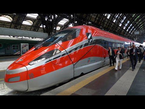 Milan to Rome by Frecciarossa 1000