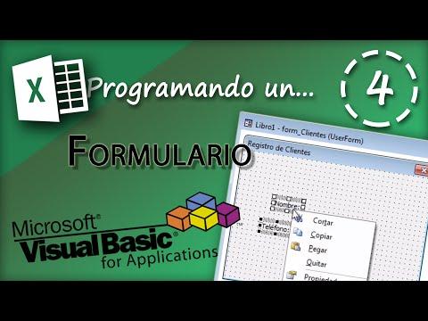 Programando un Formulario | VBA Excel 2013 #4