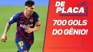 FLAMENGO enfrenta o BOAVISTA-RJ; MESSI chega aos 700 gols; GRIEZMANN em XEQUE? | De Placa (01/07/20)