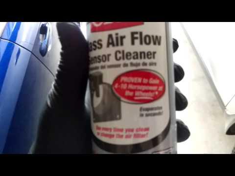 2015 Subaru WRX: Clean your MAF!