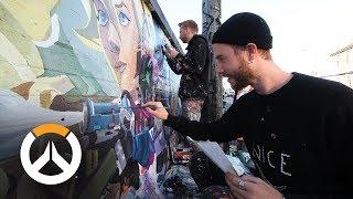 Overwatch Anniversary Murals | Behind-The-Scenes