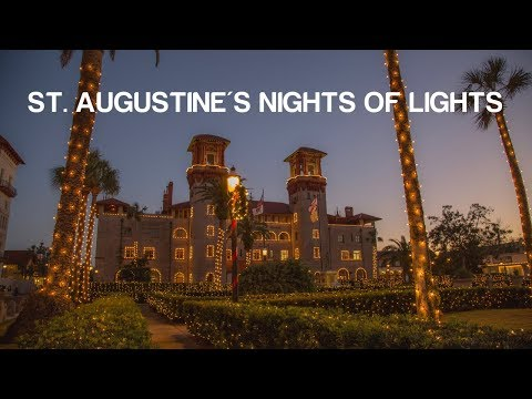 Florida Travel: Celebrate the Holidays with St. Augustine's Nights of Lights